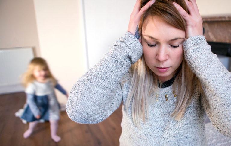Äitien kootut hermoromahdukset