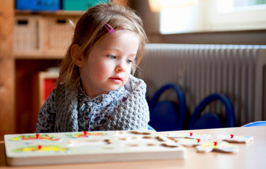 Tunnista ja hoida lapsen hahmotusongelmat
