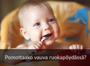 Vauvat mukaan yhteisiin ruokahetkiin!