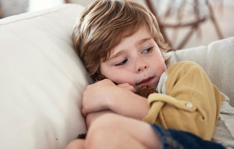 Ahdistaako kodin ilmapiiri lasta?