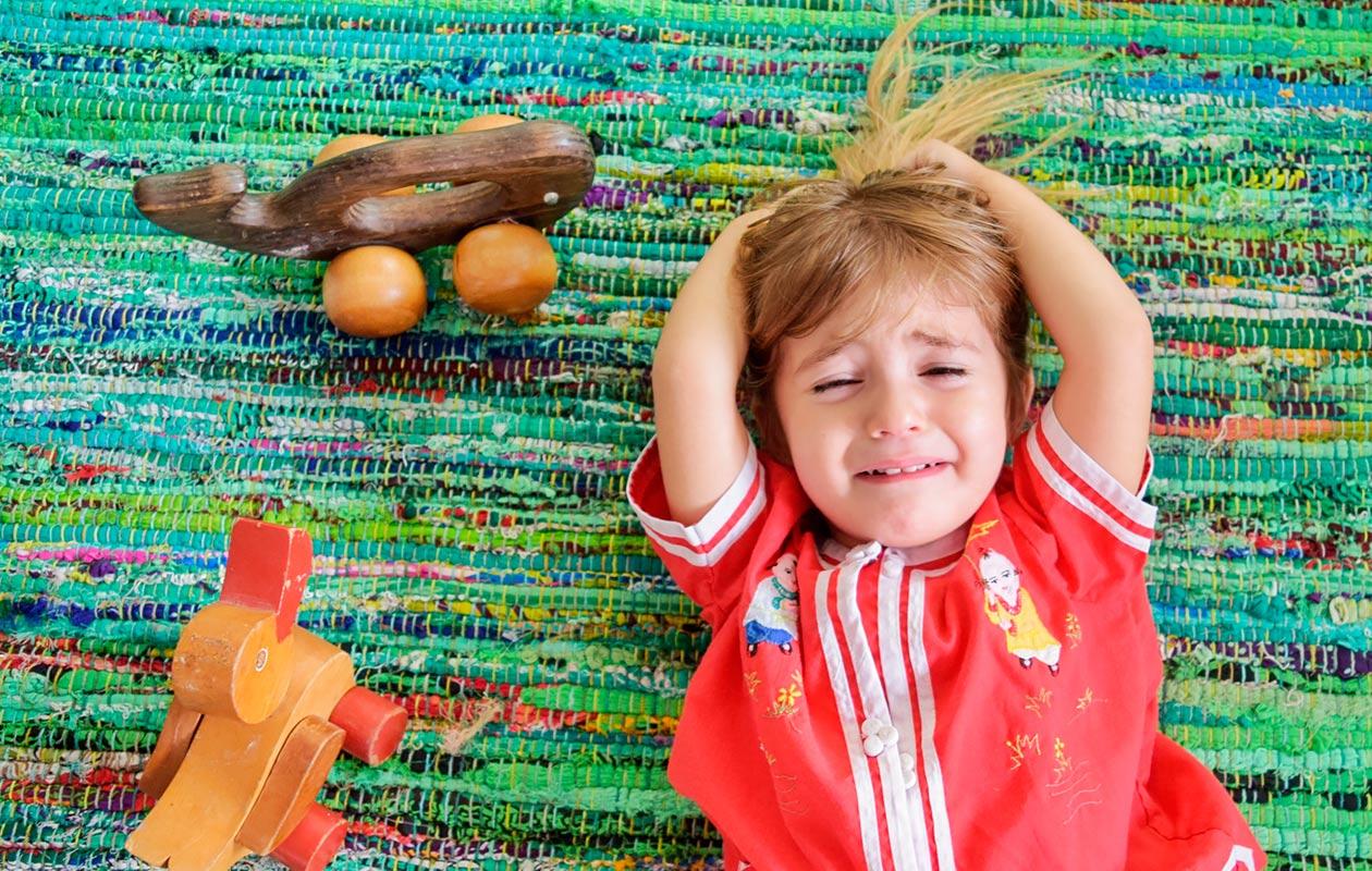 tunnista lapsen stressin merkit