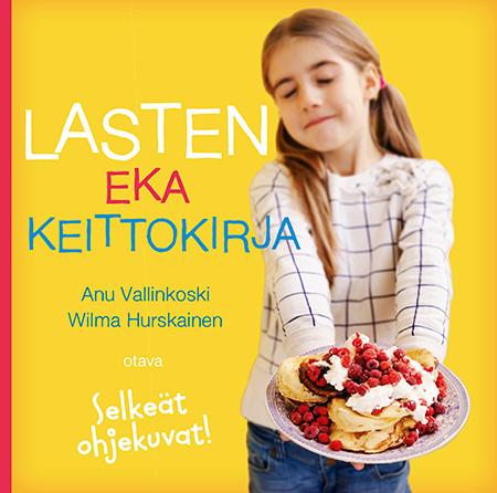 Lasten eka keittokirja (Otava)