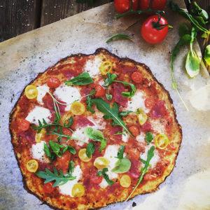 Koko perheen kukkakaalipizza