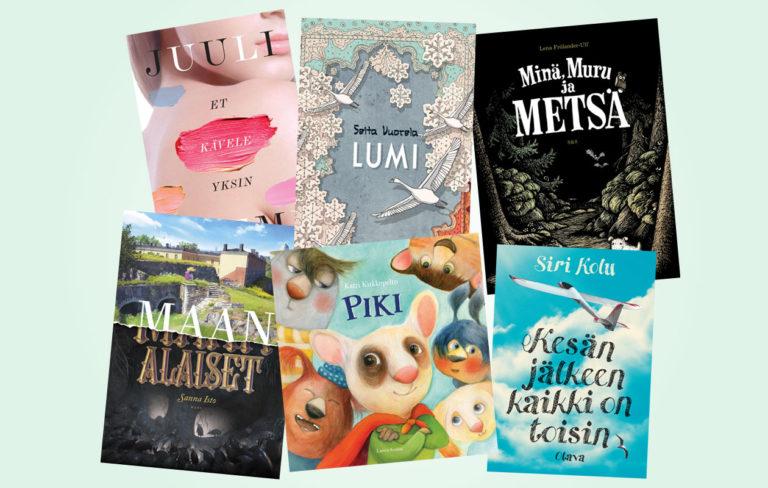 Lasten- ja nuortenkirjallisuuden Finlandia-ehdokkaat 2016