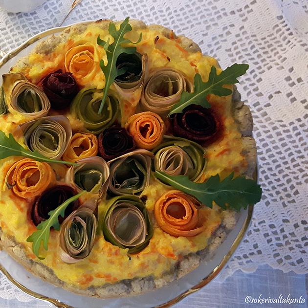 ruusupiirakka