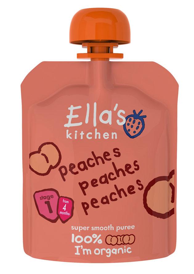 Ella's Kitchen peaches peaches peaches
