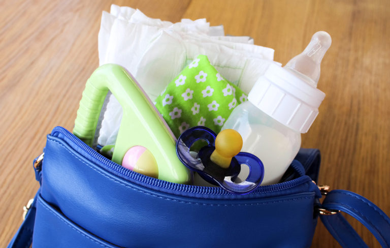 Käsilaukku elää lasten mukana