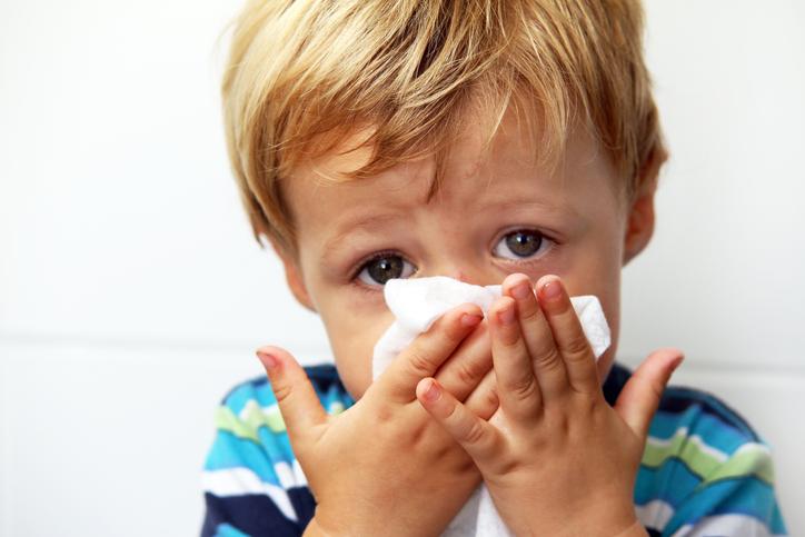 Norovirus tarttuu herkästi.
