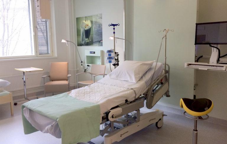 naistenklinikan uusi synnytyshuone