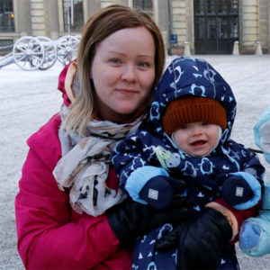 Yhden lapsen äiti Laura, 23, Hamina