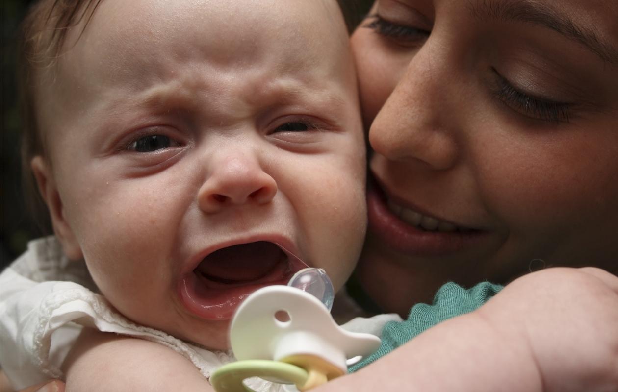 Kun vauva ei huoli tuttia
