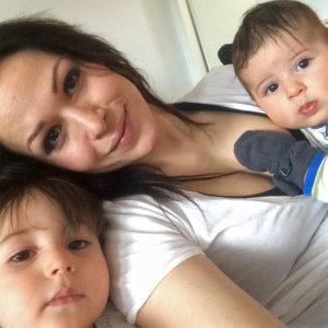 Kahden lapsen äiti Yasemin, 29, Helsinki