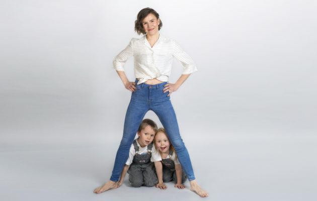 Maria Nordin pyrkii säätelemään annoskokoja, jotta lapset eivät tottuisi liikaan sokeriin.