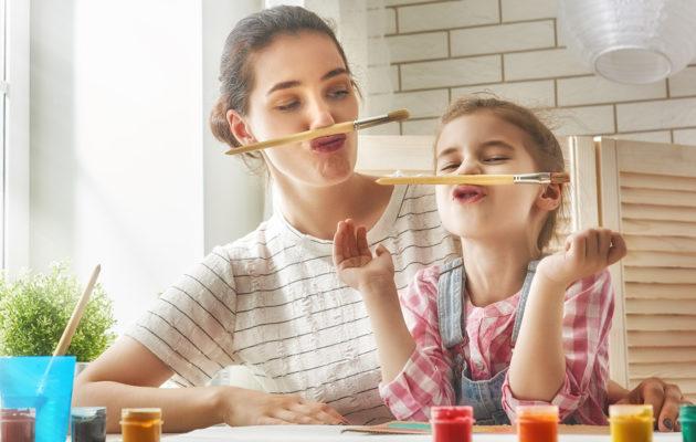Nämä 5 asiaa riittävät hyvään äitiyteen