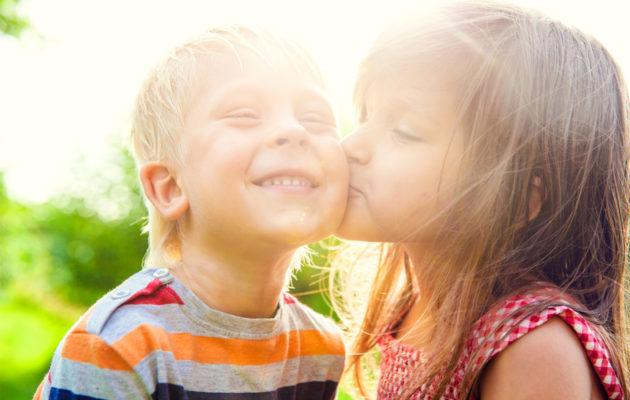 Ihastuminen voi olla lapselle iso asia.