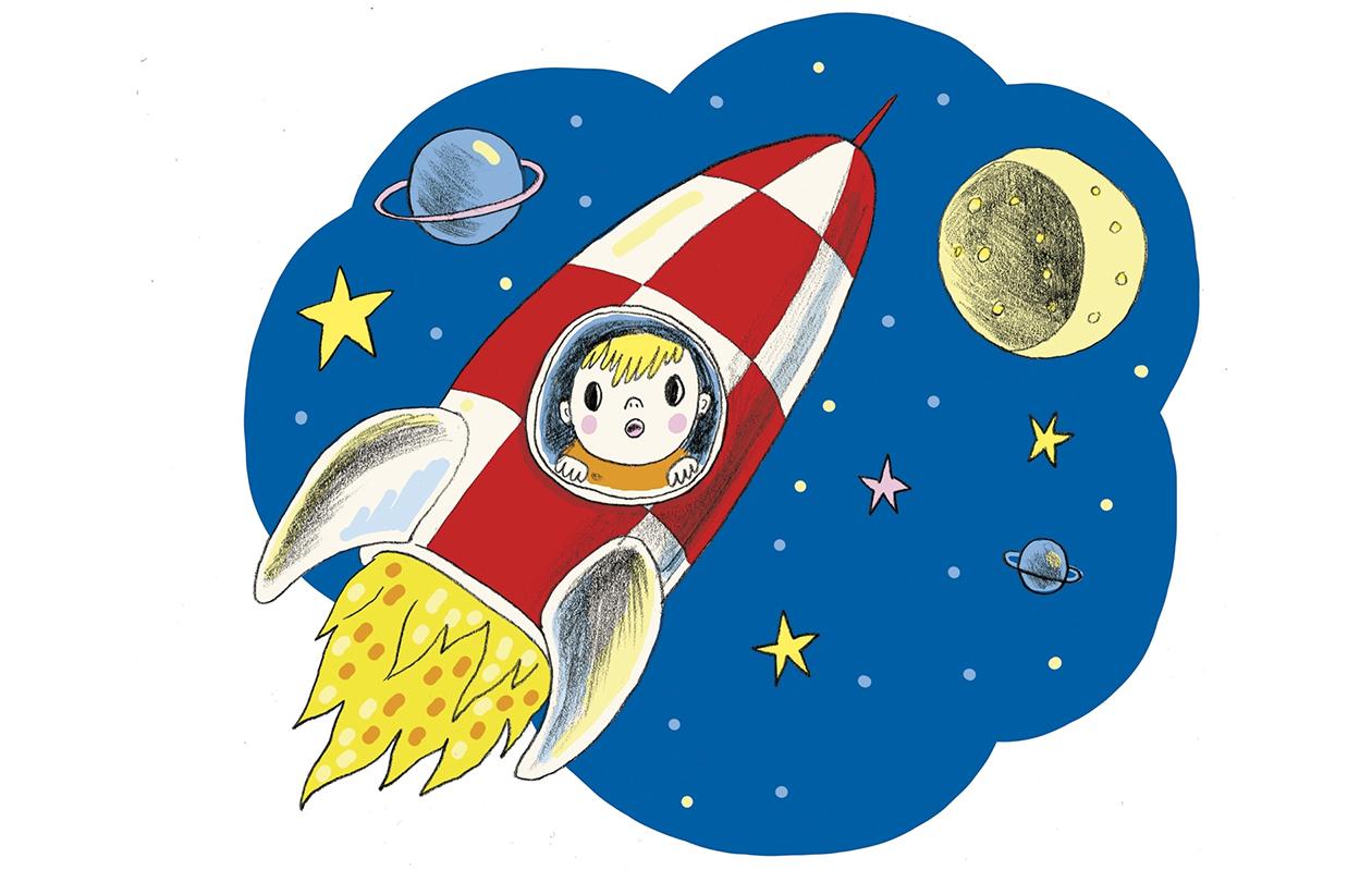 Raketilla kuuhun