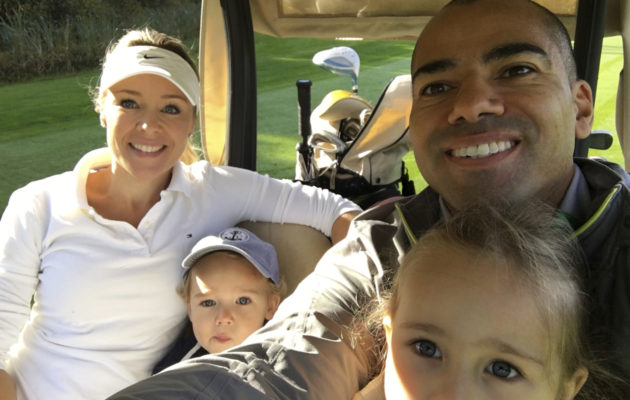 Alex Nurmella ja Kirsi-vaimolla on kaksilasta, 4-vuotias Jade ja 2-vuotias Oliver.