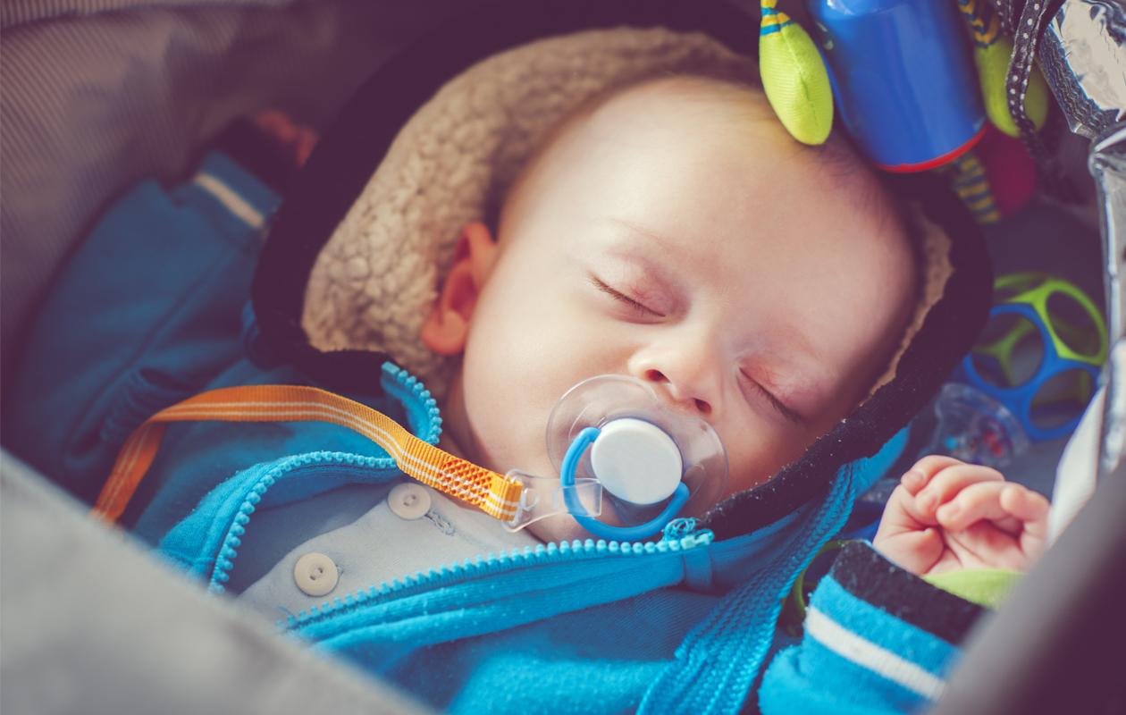rattaissa nukkuminen