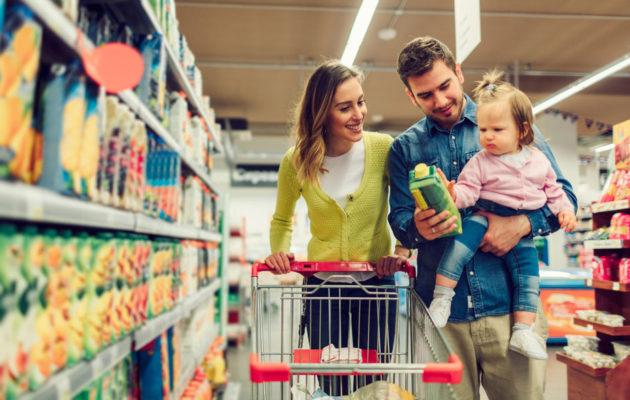 Lapsiperheessä rahaa kuluu asumisen jälkeen eniten ruokaan.