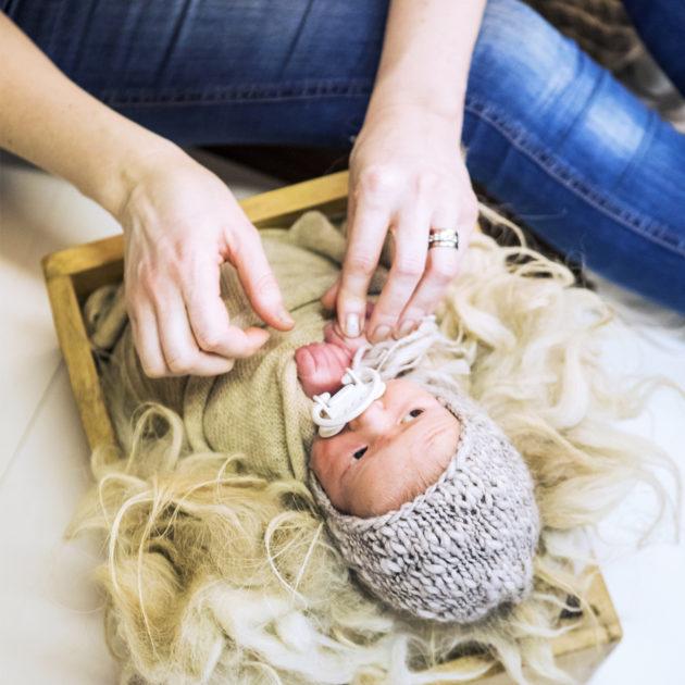 Vastasyntyneen vauvan valokuvaukset