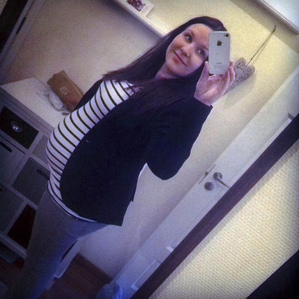 Huhtikuu 2014: Jannikan raskaus on loppusuoralla.