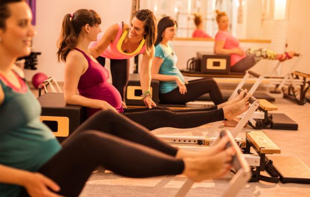 Hyvä lihaskunto lantionpohjassa auttaa myös synnytyksessä.