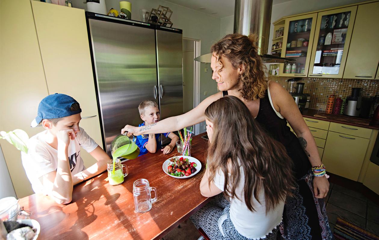 Tara Langen mielestä vanhemmuudessa on tärkeintä luottamus, vapaus ja ilo.
