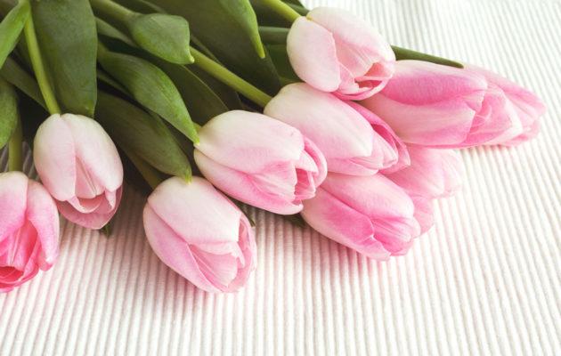 Tuliaiseksi synnärille voi viedä kukkia.