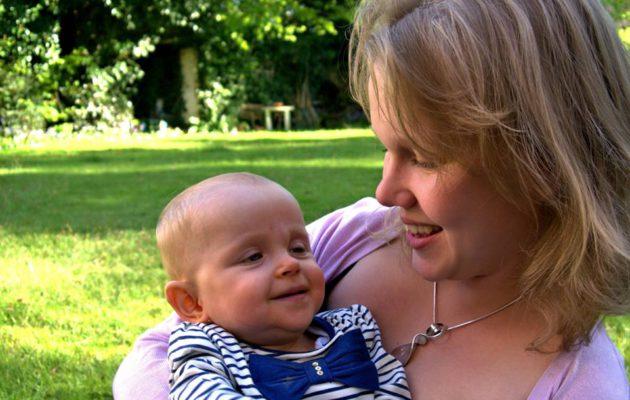 Meriannen mielessä -bloggaaja Maiju on onnellinen, ettei tiennyt esikoisensa syntyvän vammaisena.