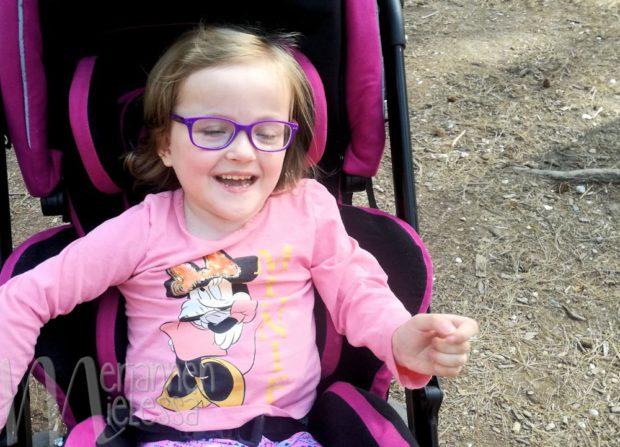 Blogiäiti on kiitollinen, ettei tiennyt lapsensa vammaisuudesta etukäteen.