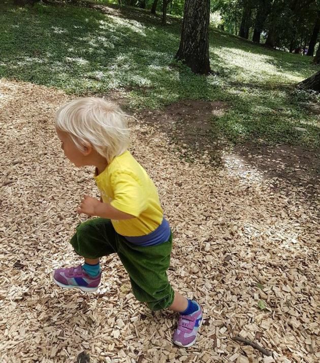 Vilkas lapsi voi välillä uuvuttaa vanhempia.