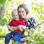 Aapo on nyt reipas 2-vuotias poika. – Olen kiitollinen siitä, että kaikki meni hyvin, Liisa Ankelo-Karonen sanoo.