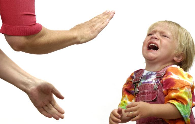 lapsen kurittaminen