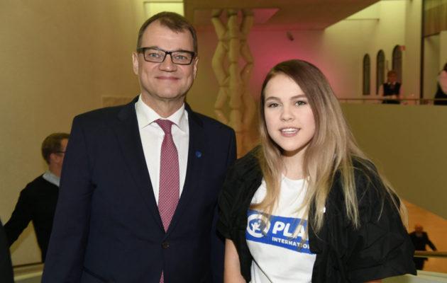 Katariina Räikkönen ottaa tänään haltuunsa pääministerin avustajan työn.