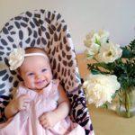 Leia-vauva tykkää kevyestä pukeutumisesta. Hänelle tulee helposti hiki,