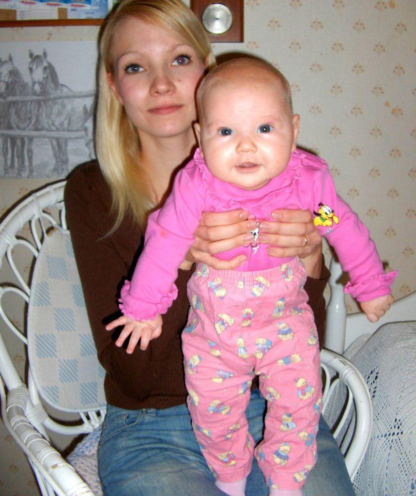 Terhi Nyykooli kuuden lapsen äiti