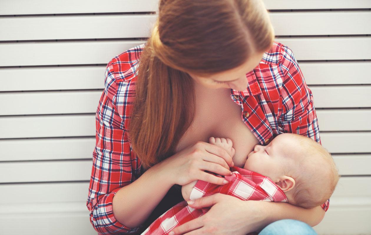Imetys ja ruokavalio: Imettävän äidin kannattaa syödä hyvin itsekin.