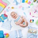 Vauva tarvitsee kaikenlaista, mutta järki on hyvää pitää päässä, vaikka ostohuuma valtaa mielen helposti.