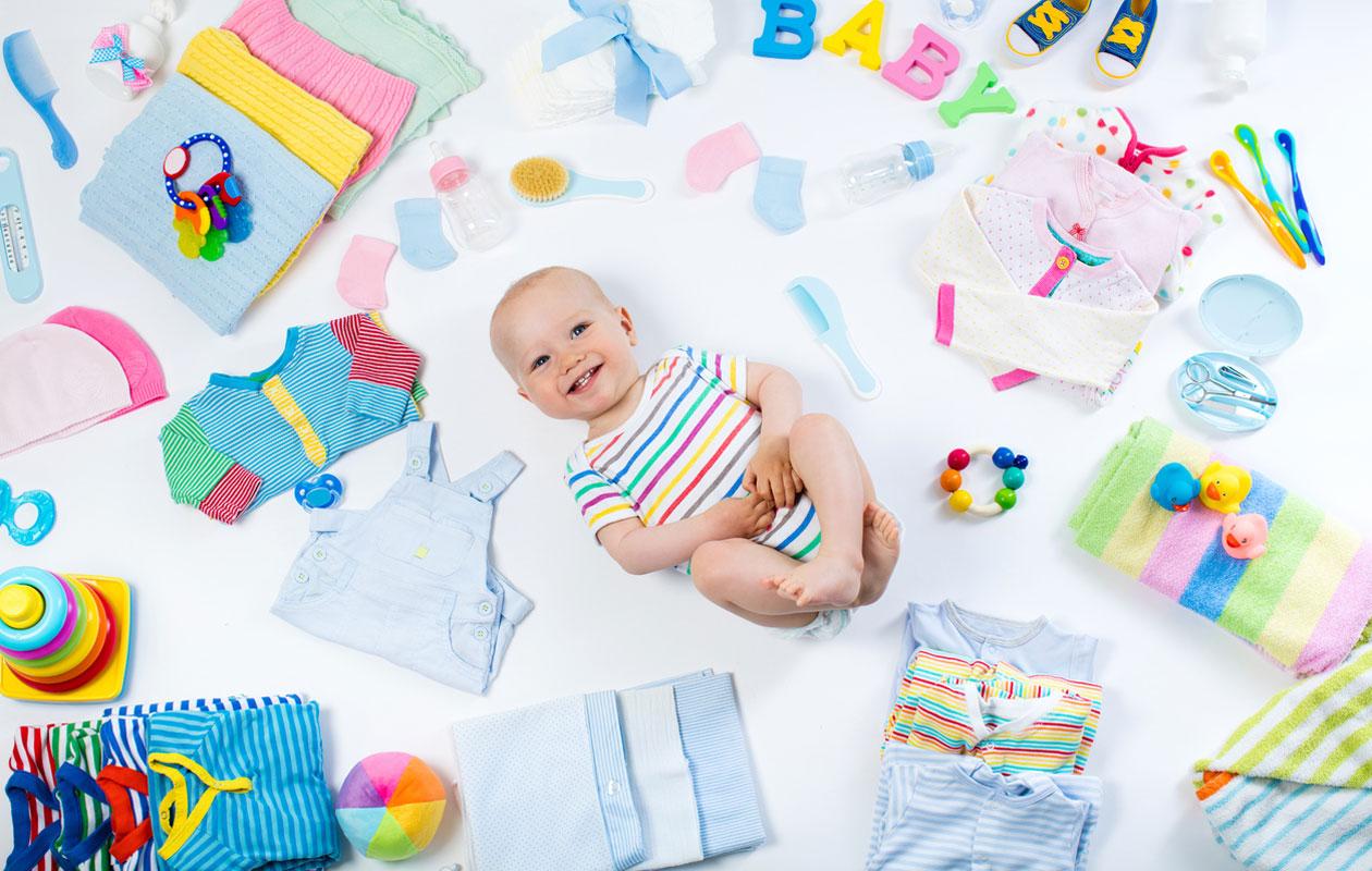 vauvan tarvikkeet
