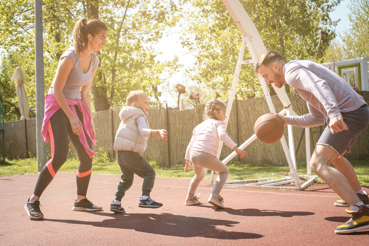 lapsen liikunnan lisääminen