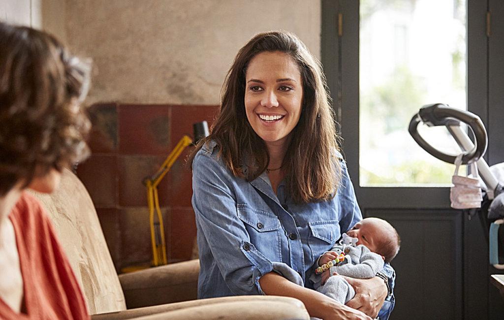 Lapseton ystävä tarvitsee sinua myös vauva-arjen keskellä.