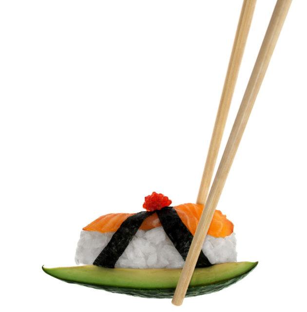 lapsen ruoka sushi