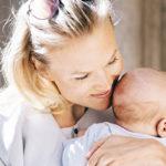 Emilia Vuorisalmi sai keväällä poikavauvan puolisonsa Maurizio Pratesin kanssa.