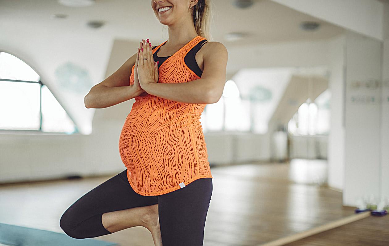 Liikunta raskausaikana kannattaa pitää suhteellisen kevyenä.
