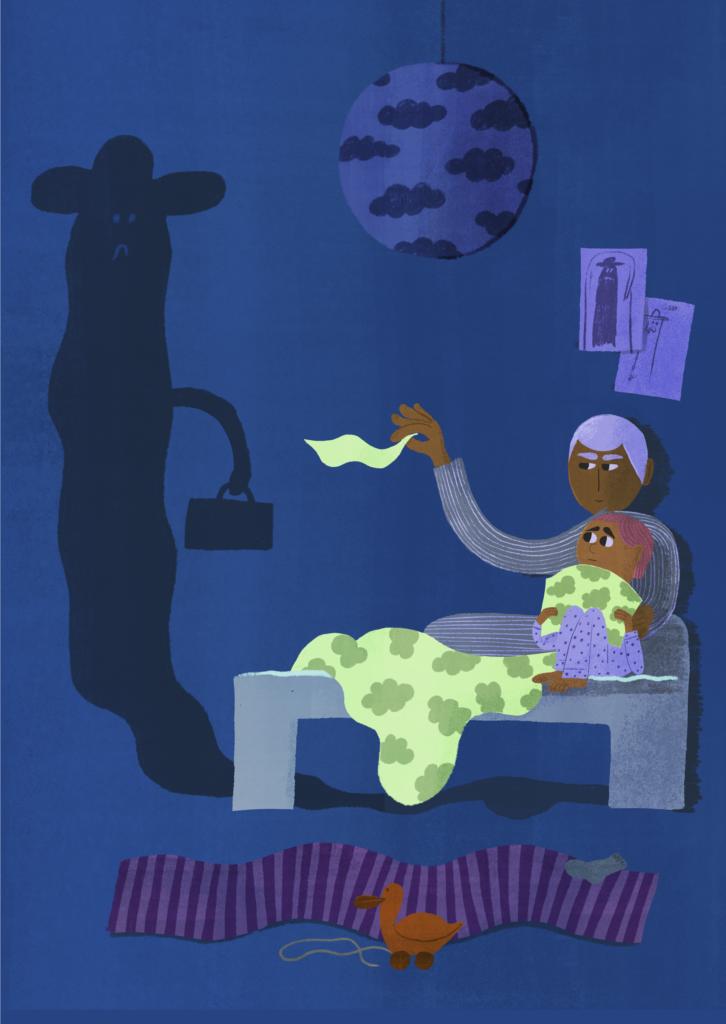 Lapsi pelkää mörköä sängyn alla - kuinka toimia?