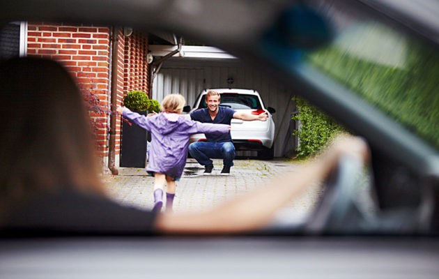 Ero lapsiperheessä tarkoittaa, että oma lapsi voi olla myös aikoja poissa kotoa.