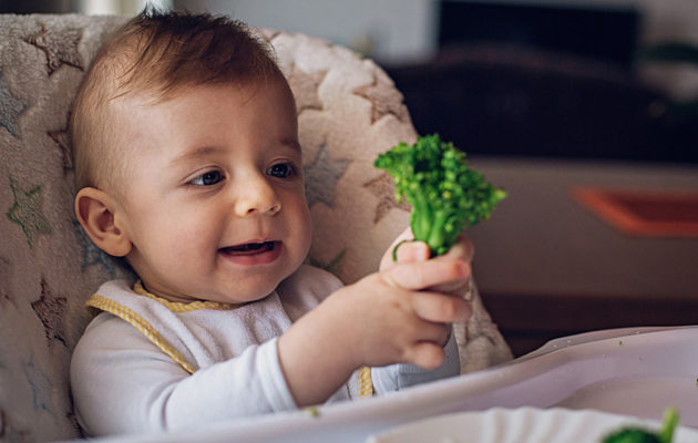 Lapsen tärkeät ravintoaineet.