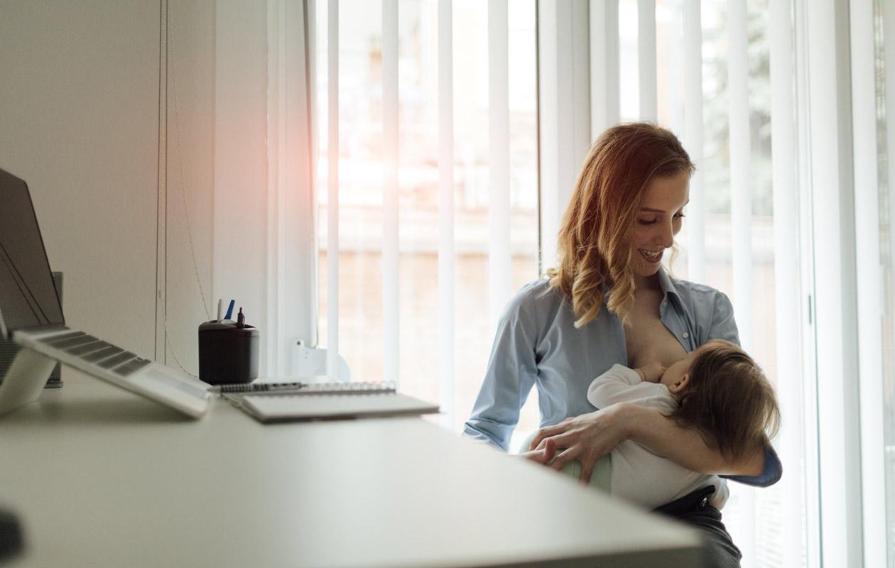 Imetys työpaikalla on mahdollista, mutta voi vaatia hieman järjestelyjä.