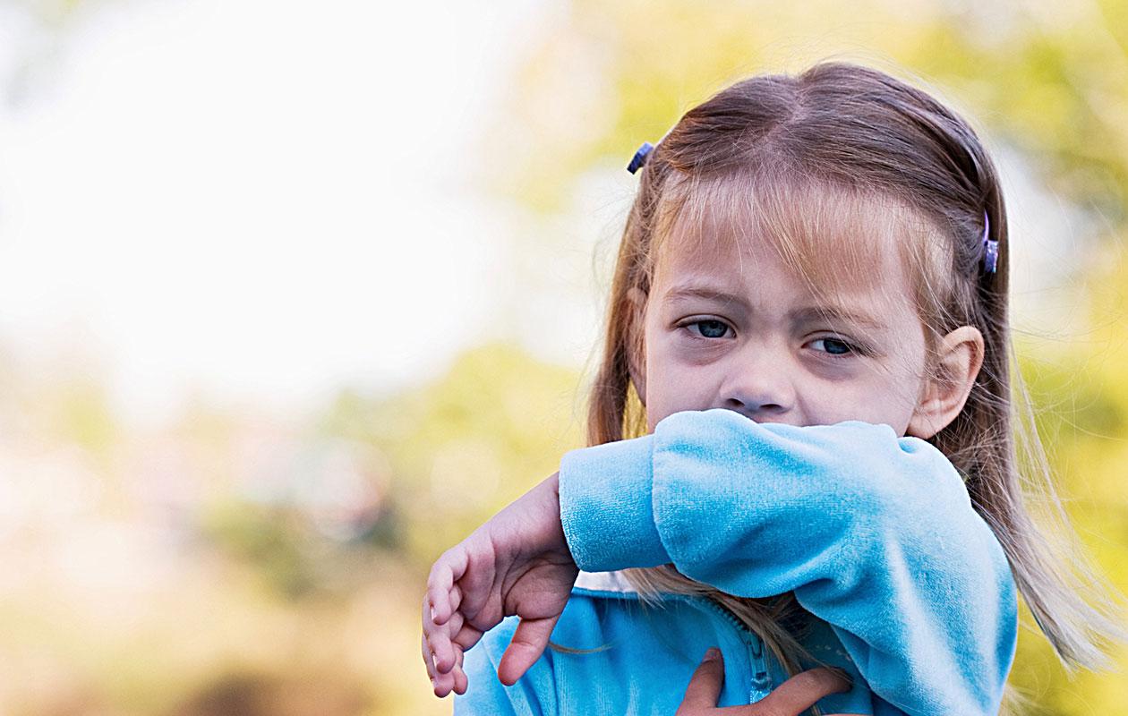 Lapsen yskä ei vaadi yskänlääkkeitä.