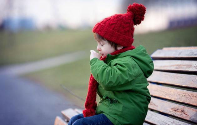 Lapsen yskä ei tarvitse yskänlääkkeitä.